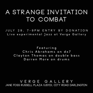 A Strange Invitation to Combat