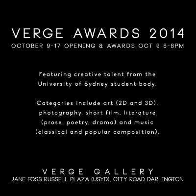 Verge Awards, October 9-17
