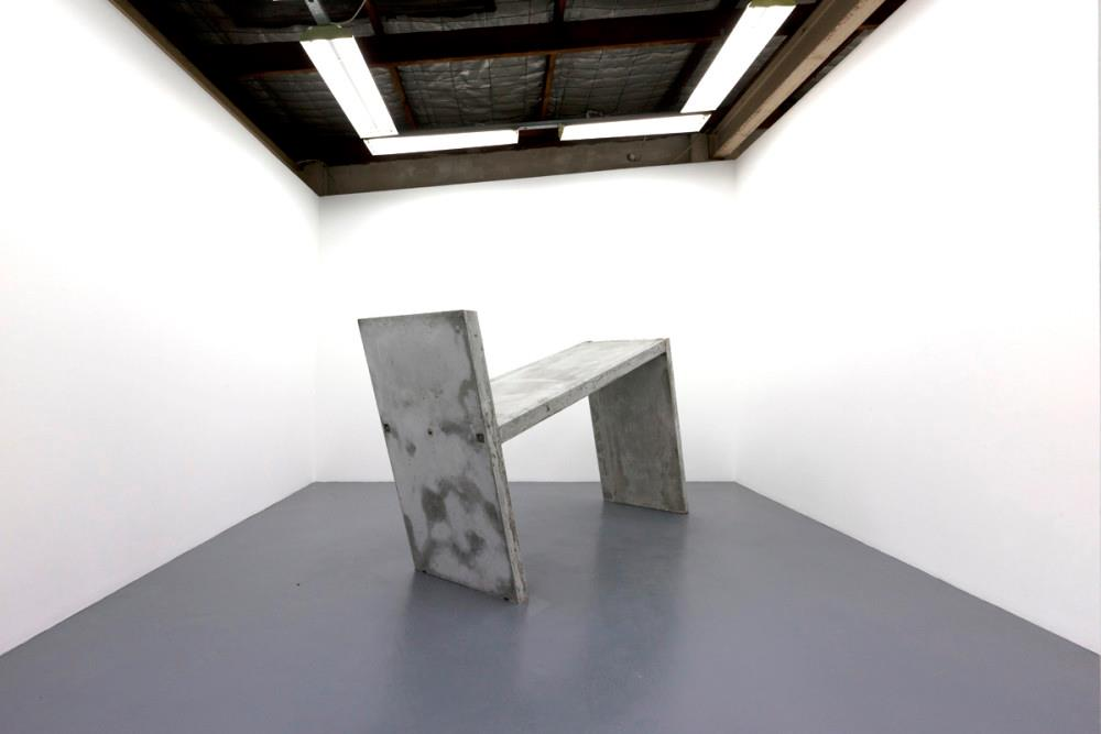 Sach Catts, Water Cure Beton Brut, 2015, Concrete and steel, 55 Sydenham Rd.