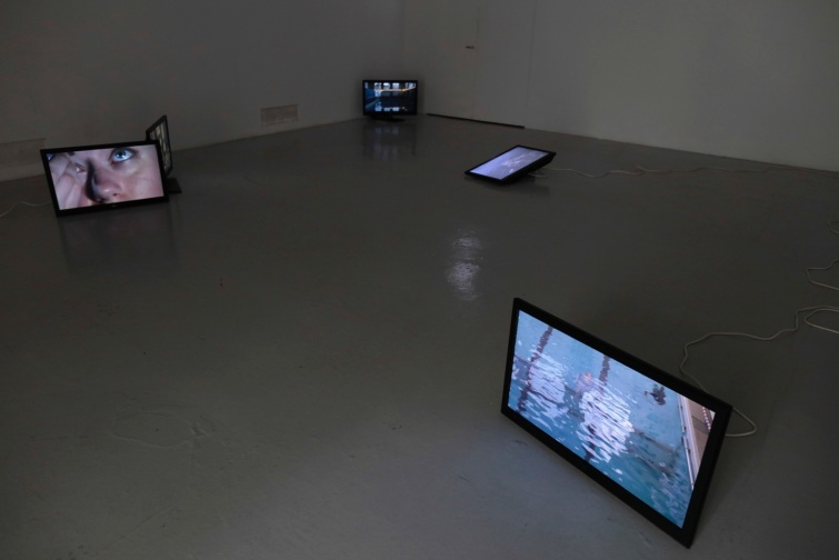 Bronwyn Bailey-Charteris; Penelope and Lucinda (installation view The Royal Institute of Art, Skeppsholmen, Stockholm), 2016