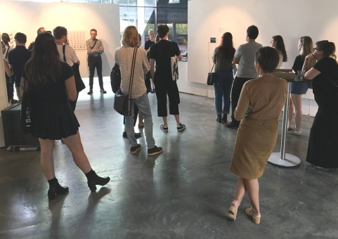 Corporeal : the presence and absence opening night. Image by Verge Gallery.