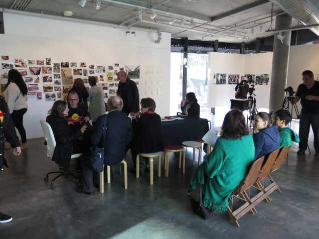 Closing celebration and discussion. Image by Verge Gallery.