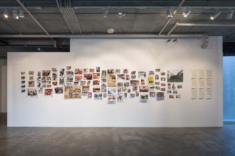Gallery 1 // Down the Barrel: Indigenous Resistance :: Elaine Syron :: Curated by Rebekah Raymond. Photograph by Document Photography