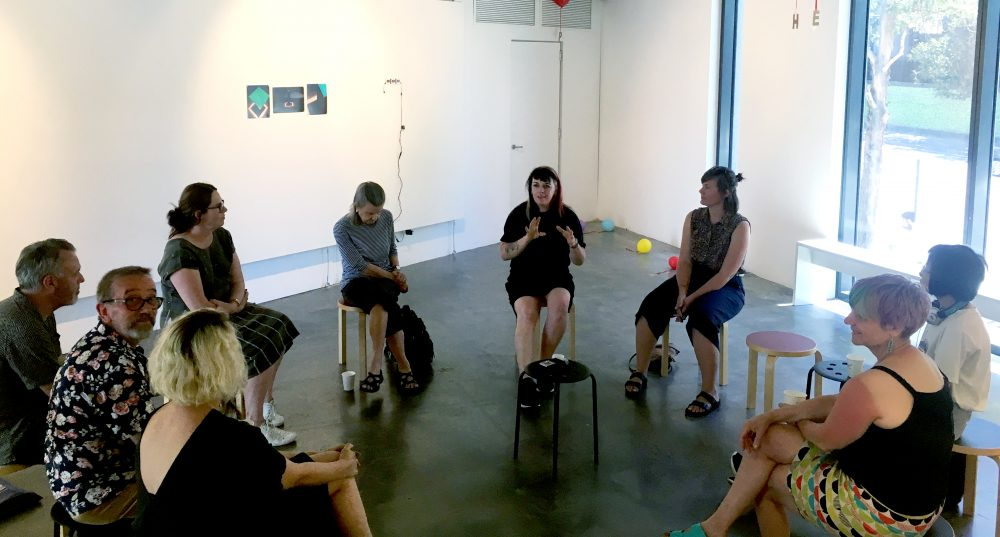 Discussion :: Curator + Artist talk for Documents, Alternatives #2 Saturday January 20