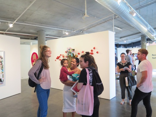 Opening night // Gallery 1: Heavenly Creatures, Gallery 2.1: Coca-Colanized, Galley 2.2: We are Infinite.