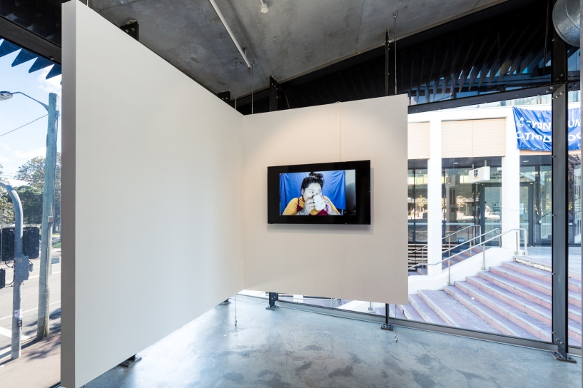 Louisa Afoa, Untitled (2018), moving image, 9 mins 48 secs. Image by Document Photography.