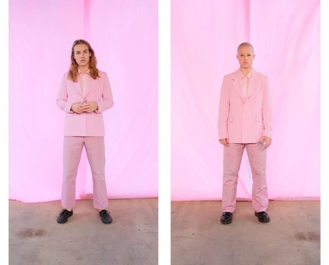 Tayla Jay, Baby, Two channel video, 1:52, 2017, Courtesy of the artist.