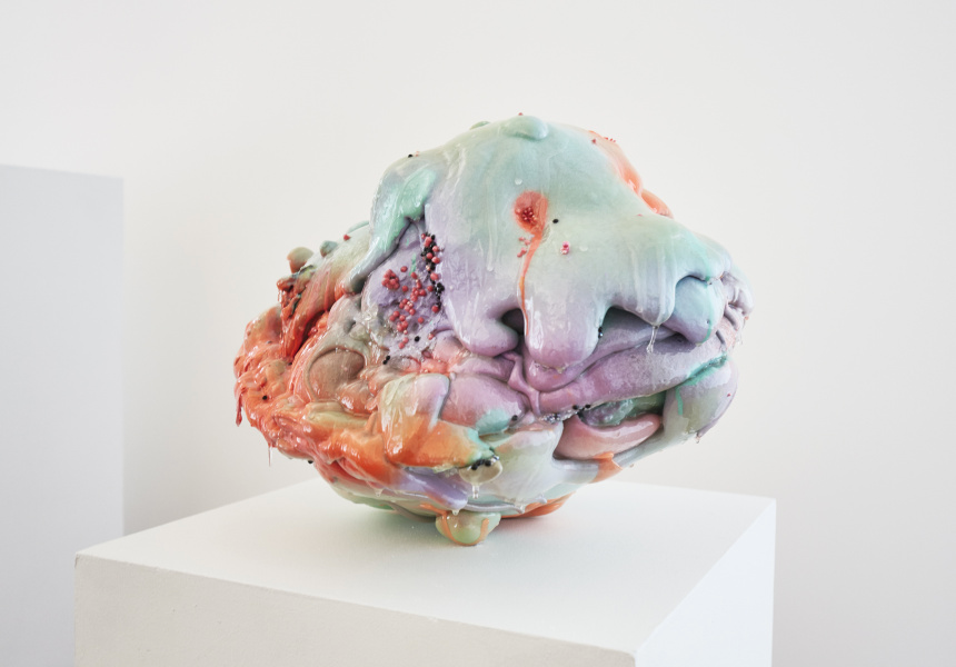 Louise Zhang, I went to mars and the isolation and desolate winds eroded my sanity, 2015